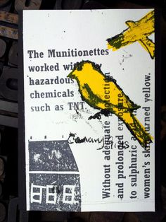 The Munitionettes Jobs For Women, Creative Skills, Mail Art, First World, Trench, Art Projects, Artist, Artists, Art Designs