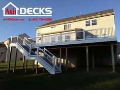 """Does your deck need a rain escape? We've got you covered! #gafrainescape #arhdecks #deckbuilder #additions"""