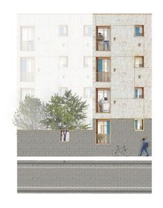 Mark Donnelly, Queens University Belfast, MArch Housing New Cross London