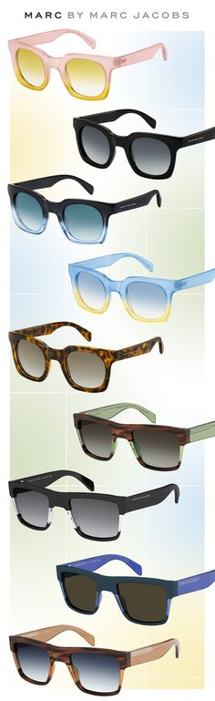 Marc by Marc Jacobs Unveils Fearlessly Edgy Shades: http://eyecessorizeblog.com/2015/05/marc-marc-jacobs-unveils-fearlessly-edgy-shades/