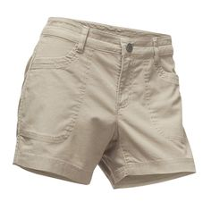 Women's Cliffside Shorts in Granite Bluff Tan by The North Face