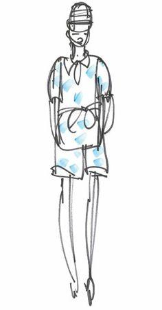 Karen Walker, Dusk blue pantone 16-4120... tendance Spring 2013