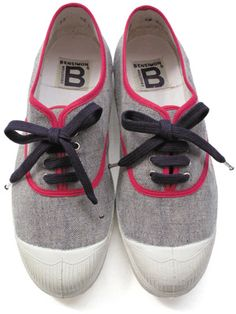 Bensimon.  Love these shoes and this color combination.