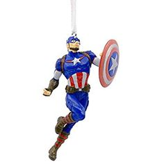 Decoration Xmas Tree Ornament Decor Avengers Captain America v Winter Soldier BD