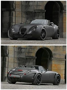 If I lived in England then this would be a good choice for transportation - Wiesmann MF5 V10