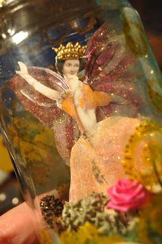 a fairy in a jar