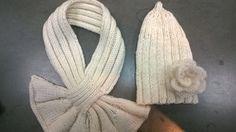 cappellino e sciarpina per Bimba