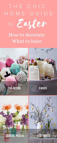 This year I am planning to be a lot more organised and thanks to Pinterest I have made a little Edit of 20 Super Chic Easter decor and baking ideas that I want to try. Pin the photo above to make sure you keep all these handy links in one of your Spring or Easter Pinterest boards.