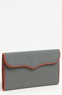 Rebecca Minkoff Coated Nylon Passport Wallet | Nordstrom