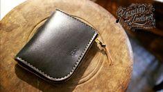 L Shape, Zip Around Wallet, Youtube, Leather, Handmade, Hand Made, Youtubers, Youtube Movies, Handarbeit