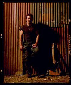 Timothy White | Bruce Springsteen (Standing), Malibu CA, 1991
