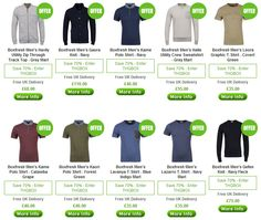 You may not have heard too much about Boxfresh, but it's a fresh new urban brand with a really contemporary take on men's fashion, bringing you the most modern and up to date styles in men's clothing today.    These are some of the cheapest and best priced Men's clothing in the range today.
