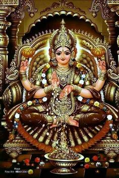 Goddess lakshmi is the Hindu goddess of wealth, fortune, love and beauty. Goddess lakshmi is the Hindu goddess of wealth, fortune, love and beauty.Lets see some easy rituals to please goddes Saraswati Goddess, Goddess Lakshmi, Durga Kali, Saraswati Photo, Lord Durga, Kali Hindu, Durga Images, Lakshmi Images, Lakshmi Photos