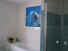 badkamer boven 2 x wasbak bad en douche