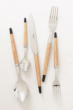 Atelier Flatware   #anthropologie