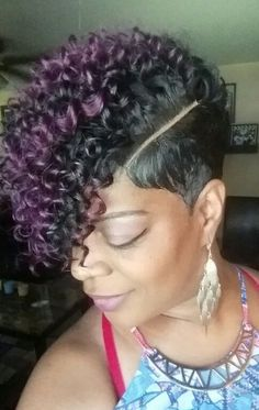 Short curly weave #graffitipart                                                                                                                                                                                 More