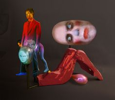 I had the pleasure to meet personally Tony Oursler after his magnificent exhibition at Soledad Lorenzo. Tony Oursler, Bird Strike, Multimedia Artist, Projection Mapping, Circus Theme, Textiles Techniques, Psychedelic Art, Community Art, Medium Art