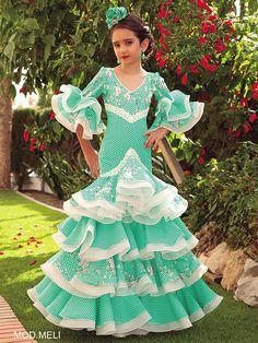 Spanish Dancer Costume, Dance Costumes, Dance Dresses, Flamenco Dresses, Edwardian Dress, Sewing Clothes, Fashion Outfits, Disney Princess, Crochet