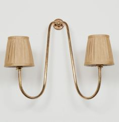The Grosvenor Double Arm Wall Light