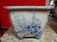 Bac A Banzai Porcelaine Japon 19 Eme, La cire perdue, Proantic