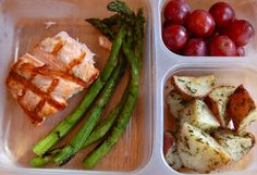 Chef Mommy: MAIL BAG: Healthy Lunch Ideas  I'd love to try these containers for lunches.