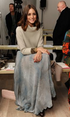 Olivia Palermo During London Fashion Week, 2011