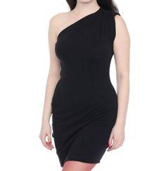 American Apparel Jersey One Shoulder Dress