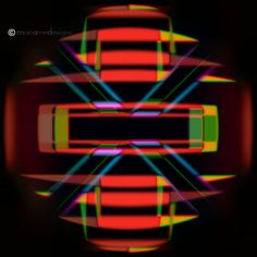 Letter Box Digital Abstract 3D Square by UniqueExpressionsArt, €16,00