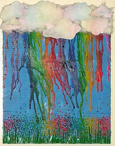 Melted Crayon Art - don't think I could make one as cool as @Alicia Crenshaw's, but still would love to try sometime. :)