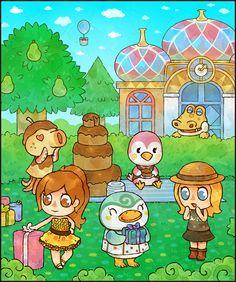 Animal Crossing: Sam's Birthday by Cavea.deviantart.com on @deviantART