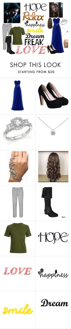"""The Party"" by jevance ❤ liked on Polyvore featuring Once Upon a Time, Bloomingdale's, Tiffany & Co., Topman, Ellie, Black Diamond and Dot & Bo"
