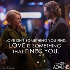 All this time… she was waiting for him. #Adaline