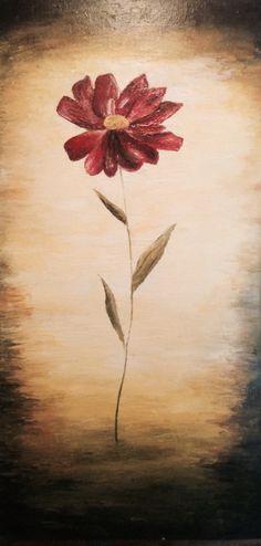 Oleo. Flor