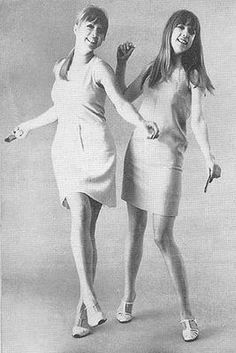 Love this look... pattie and jenny boyd