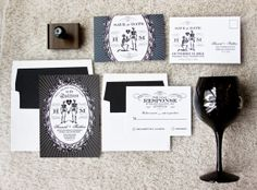 Beyond Forever Offbeat Bride Wedding by ThePaperParamour on Etsy, $10.00