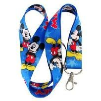 Mickey Mouse Lanyard Keychain