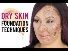 Best Foundation Techniques for Dry Skin | Makeup Geek - http://47beauty.com/best-foundation-techniques-for-dry-skin-makeup-geek/     Get Beauty Tips on Twitter  MORE INFO: https://www.makeupgeek.com/articles/best-foundation-techniques-for-dry-skin/ Hey, Makeup Geeks! I'm back with another educational video this week, and this time I'm coming at you with my favorite techniques for flawless foundation when you have DRY SKIN! If you suffer from dry skin, you know the s