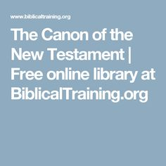 the canon of the new testament The first canon was the muratorian canon, compiled in ad 170, which included all of the new testament books except hebrews, james, and 3 john the council of laodicea (ad 363) concluded that only the old testament (along with the apocrypha) and the twenty-seven books of the new testament were to be read in the churches.
