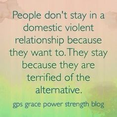GPS-Grace Power Strength: Domestic Violence: When It Happens In Your Family