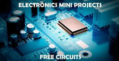 Get good knowledge on circuit diagrams of various electronics mini projects by visiting this page. Visit this page regularly for latest updates of projects.