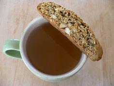 Almond Cardamom Biscotti