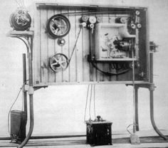 The Biograph. A device for projecting motion pictures developed by W.K.L. Dickson after his defection from the Edison labs to American Mutoscope Co. (soon to be renamed American Biograph Co.).