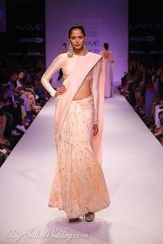Payal Singhal Lakme Fashion Week 2014. Payal Singhal Collection, Designs, Fashion Shows, Lehengas & Sarees, Pictures and Photos on Bigindianwedding