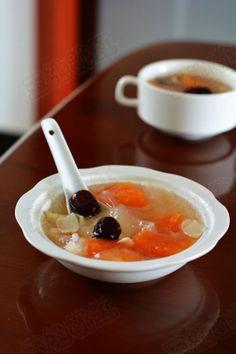 木瓜银耳百合汤