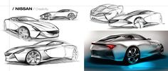 Nissan Z 2015/02 by Vincent-Montreuil. I wish they would retire the current 370Z design. The original 70's design was much better, and this sketch captures more to that.