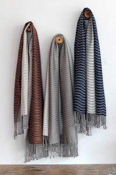 Handwoven shawls, Laura Adburgham Loom Weaving, Hand Weaving, Scarf Display, Loom Love, Japanese Market, Afghan Blanket, Scarves, Textiles, Tapestry