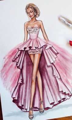 Trendy fashion sketches dresses dresses ideas - - Source by ideas sketch Dress Design Sketches, Fashion Design Drawings, Fashion Sketches, Drawing Fashion, Fashion Sketchbook, Sketchbook Ideas, Trendy Fashion, Fashion Art, Classy Fashion
