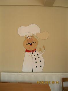 Anasınıfı duvar resmi (yemekhane)