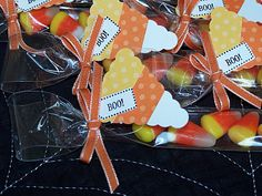 Wednesday, October 12, 2011  Candy Corn Treats...   Petite Pennant Punch
