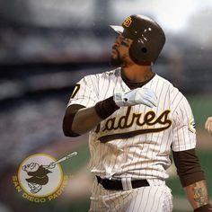Matt Kemp in San Diego Padres uni.